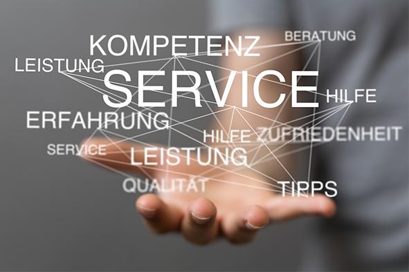 Service & TechnikRund um ihre Immobilie